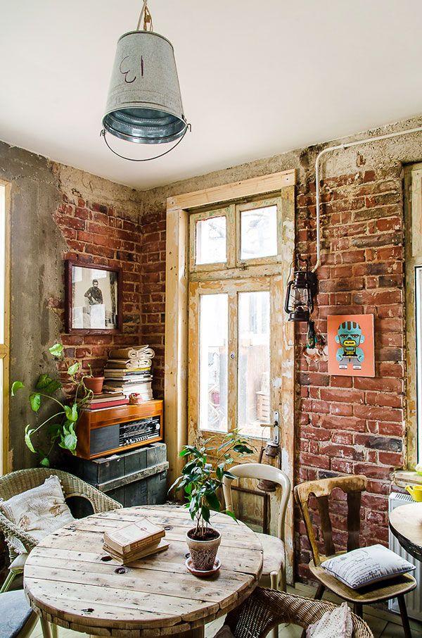 Diseno Interior Restaurantes Vintage Bistro Acuarela Decoracion De Unas Disenos De Unas Decoracion De Interiores