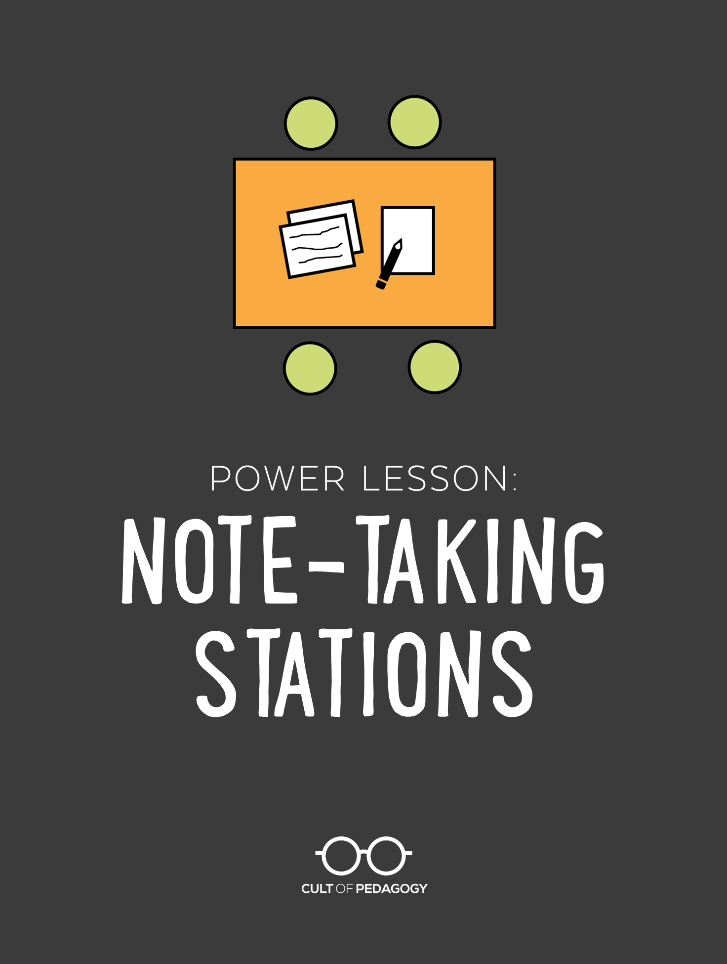 To take quality notes, students need to be taught how. This fantastic station-rotation lesson gets the job done, and it can be used with all kinds of other content as well. #CultofPedagogy #teachingstrategies #notetaking #stationrotation #studentstudyskills