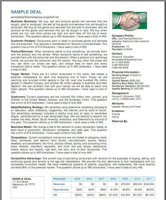 Executive Summary Resume Internship - Vosvete.Net