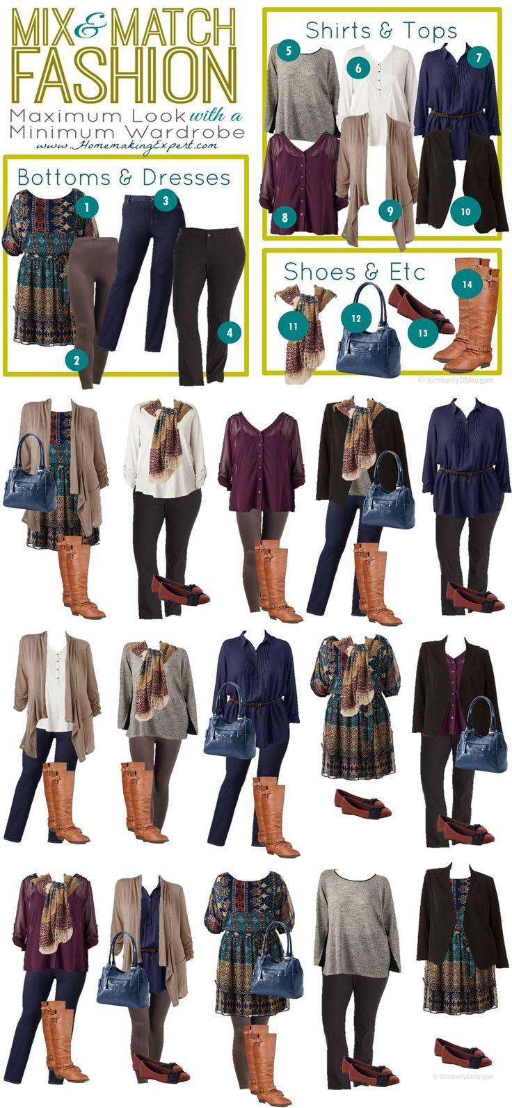 125 Kohls Plus Size Mix Match Vertical Fashion I Love