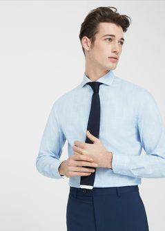 Camisa Tailored slim-fit cuadros