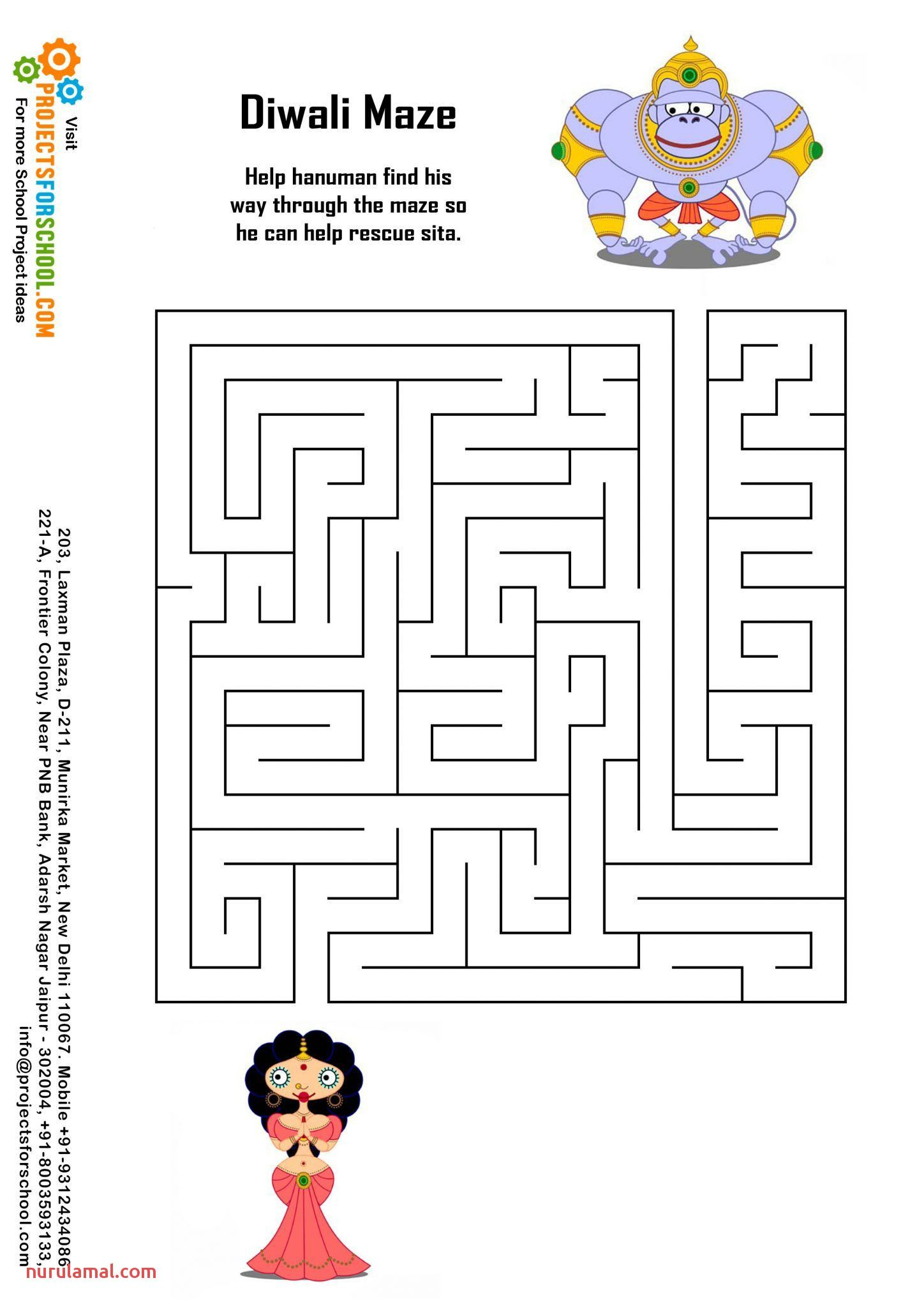 Kids Fun Worksheets Page In