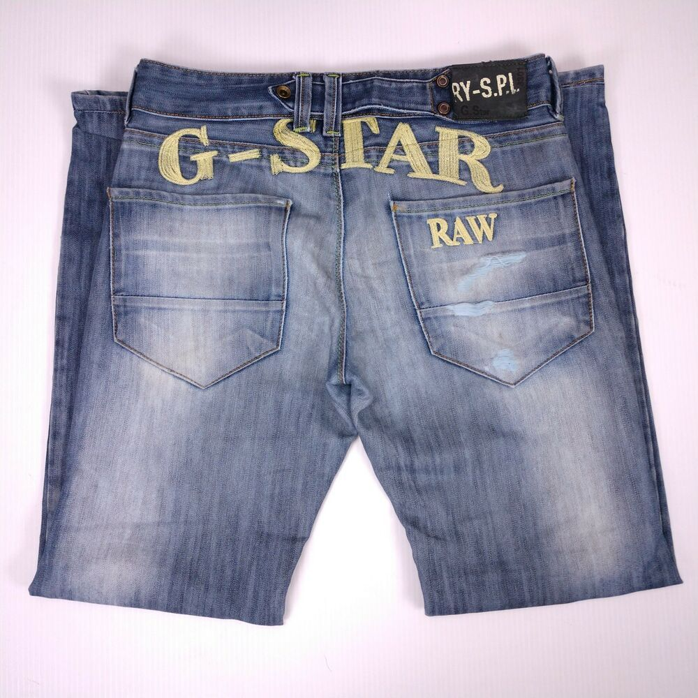 Details about Vtg 90s G Star Raw 3301 Jeans Size 31x31