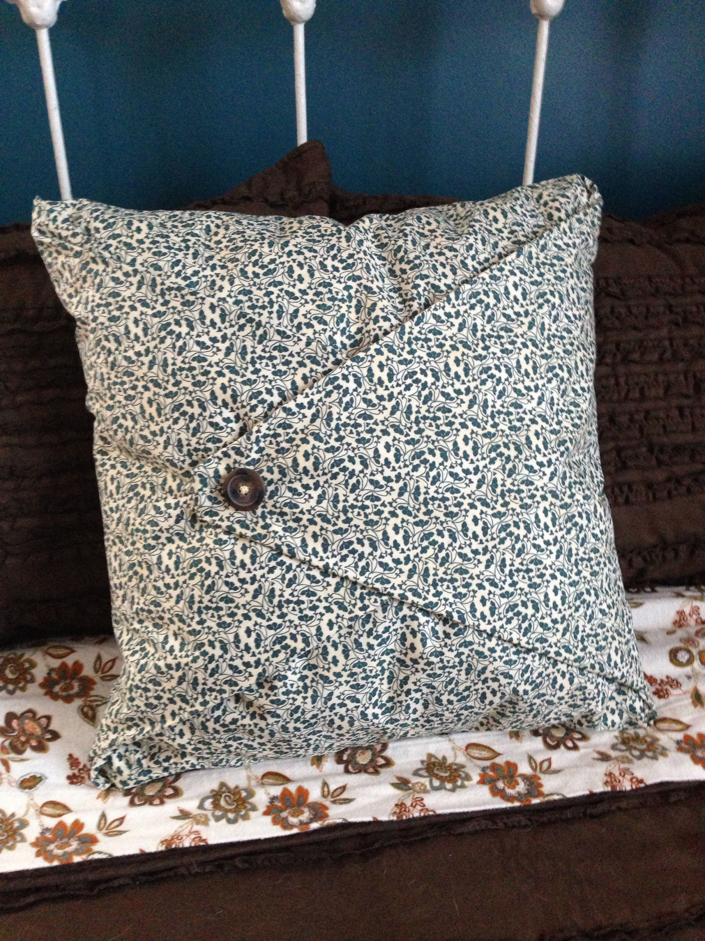 No Sew Pillow Cover Diy Pillow Covers Pillowcase Pattern No Sew Pillow Covers