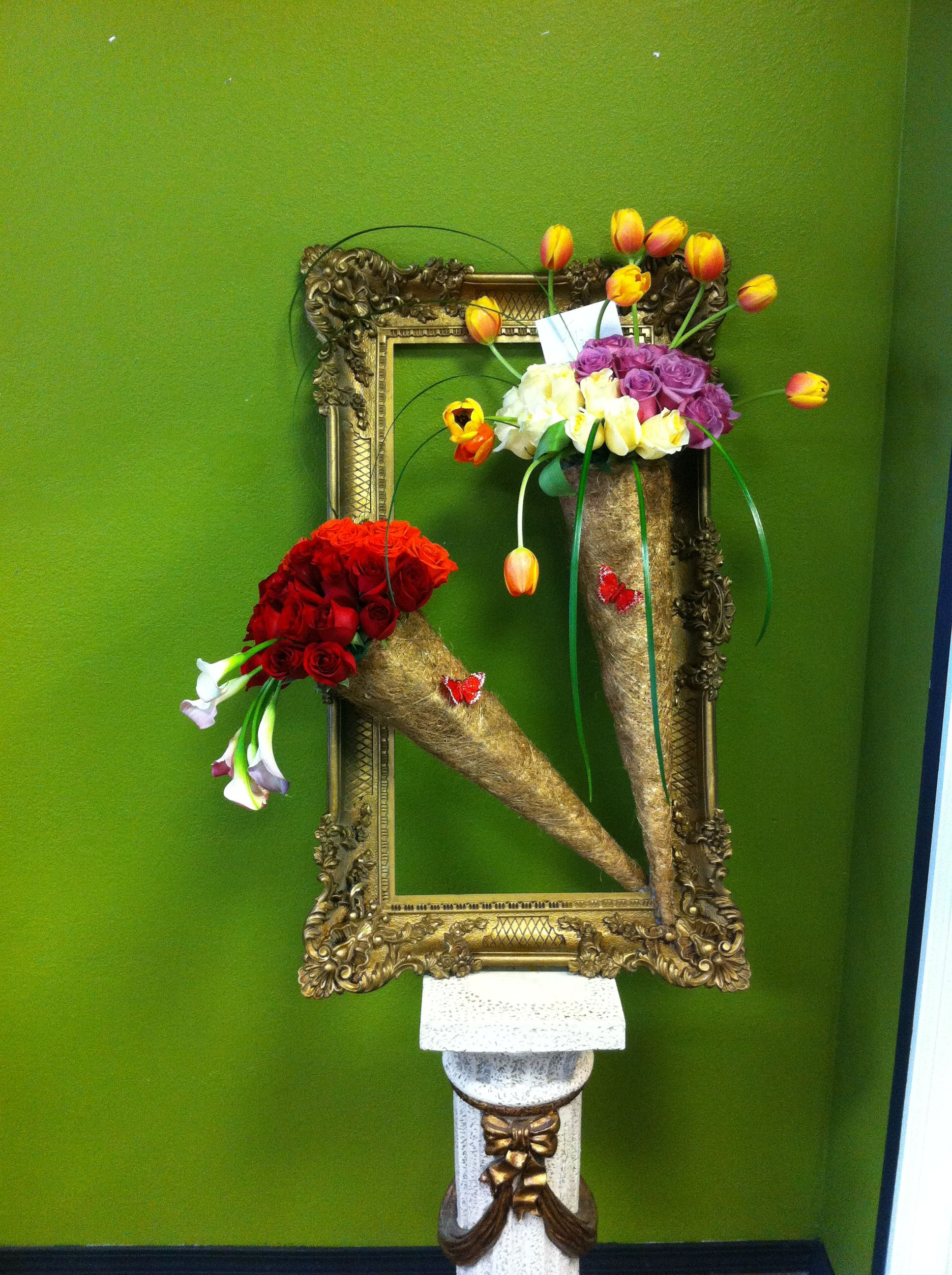 made by prestige flowers | Wall lights, Cuckoo clock on Candle Wall Sconces With Flowers id=49684