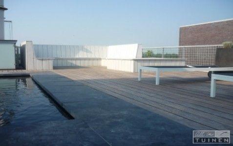 Modern dakterras almere door all in tuinen gerealiseerd dak en