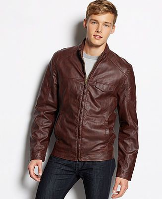 3c948f460ba from Macys American Rag Faux Leather Moto Jacket American Rag Faux Leather  Jacket