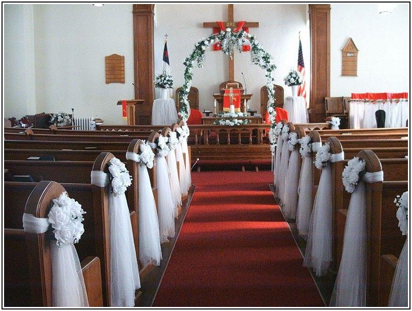 Church Wedding Arch Decorations