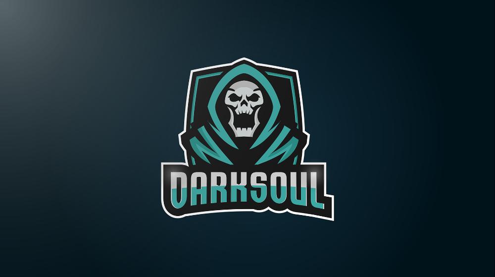 Dark Soul Esports Logo On Behance Esports Logo Dark Souls Design Dark Soul