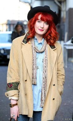Florence Welch Fashion March 2017