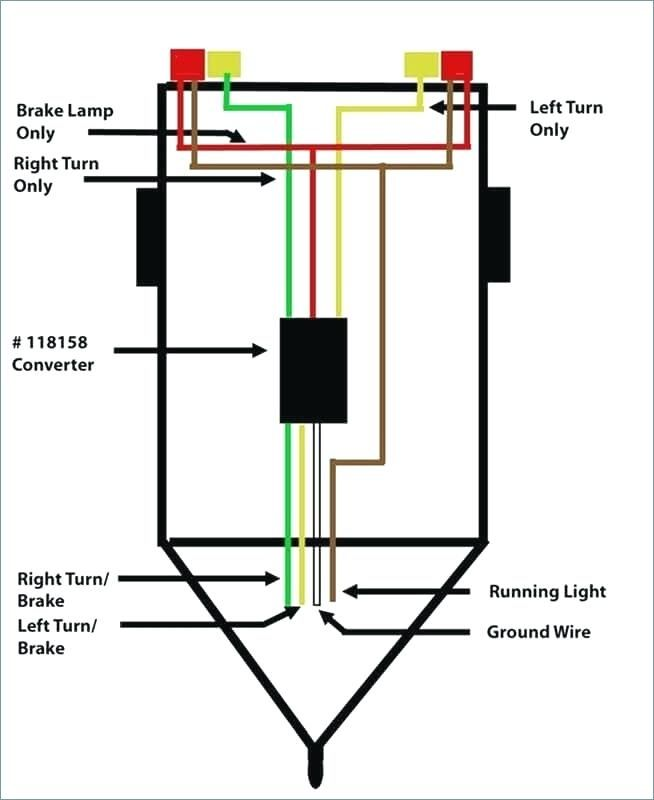 Wiring Diagram For Trailer Light 4 Way  With Images