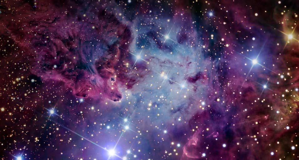 nebula space dust star - photo #9