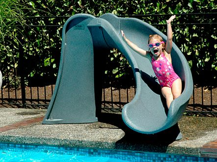 Sr Smith Cyclone Pool Slide Pools Swimming Pool Slides Swimming Pool Kits Swimming Pools