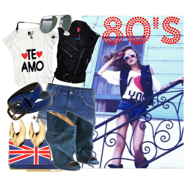 80 years, created by minnie91 on Polyvore