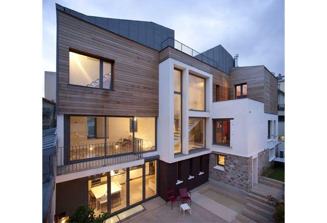 maison de ville d\'architecte | Notre petit Nid - La maison ...