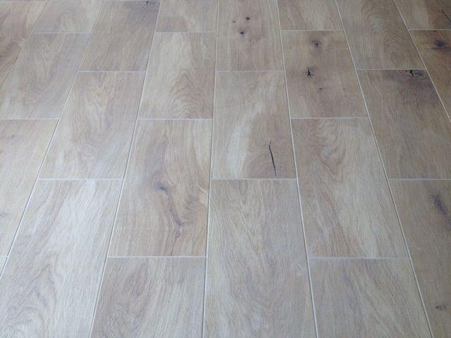Floor Timber Look Cushioned Edge Ceramic Tiles 600 X 300mm Light