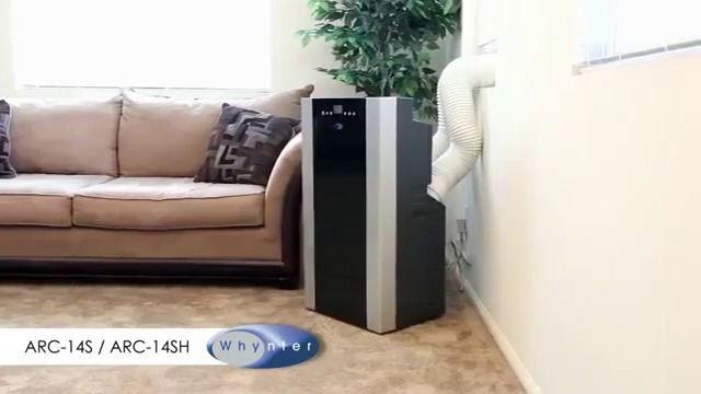 Whynter 14,000 BTU Dual Hose Portable AC W/ Heat   Sylvane