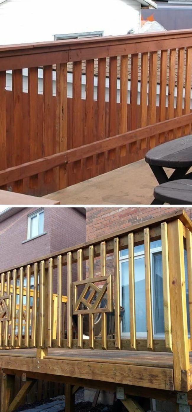 30+ Awesome DIY Deck Railing Designs & Ideas For 2020 ...