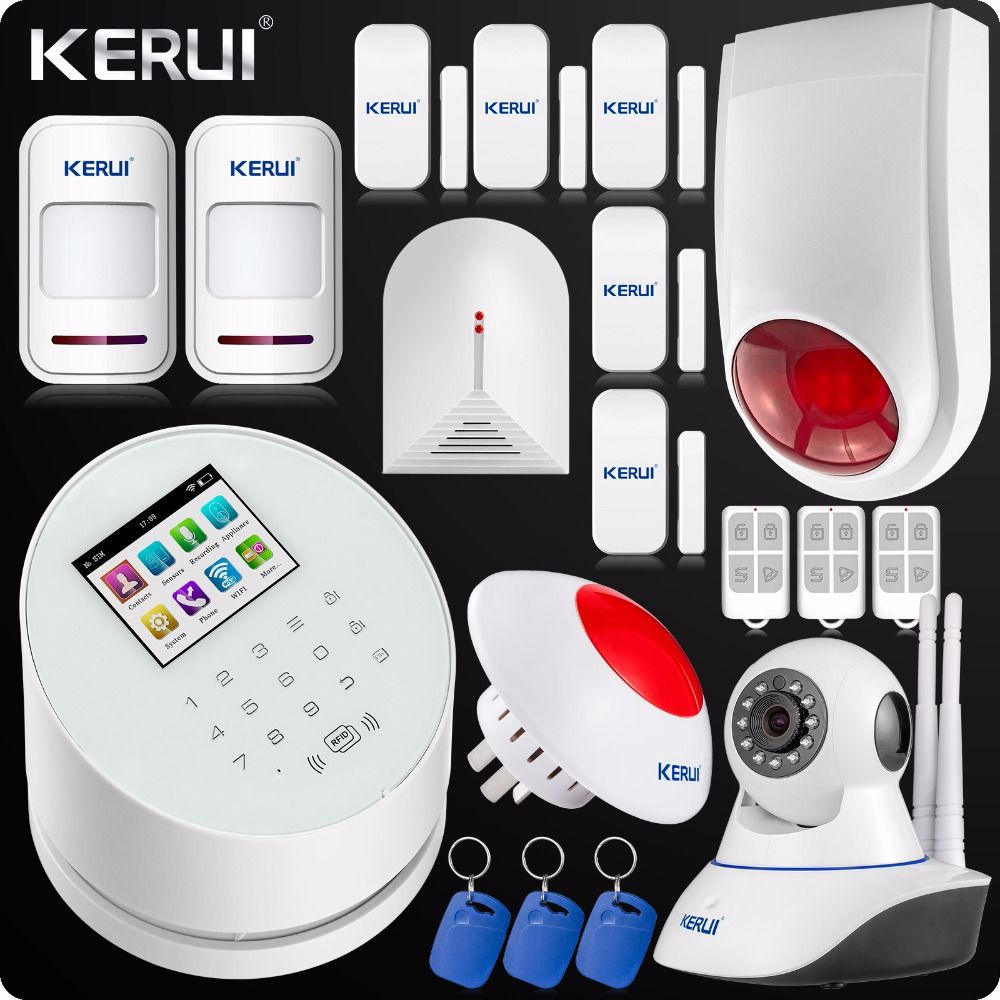 KERUI W Wireless WIFI Alarm System GSM PSTN Home Security MHz