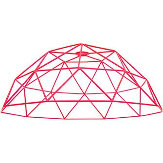 Pink Wire Lampshade