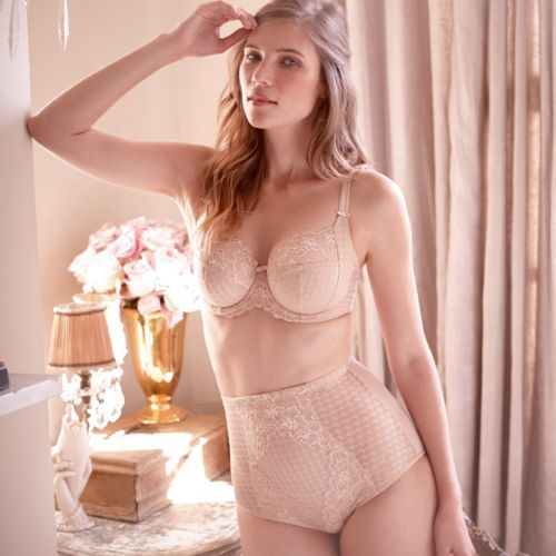 58a759bf1 NWT Panache 7285 Envy Balconnet Bra  145 NUDE V.SIZES