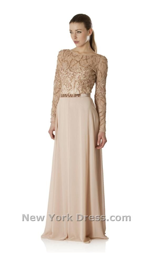 JS Collection Dress 863849 | Formal gowns, Neckline and Gowns