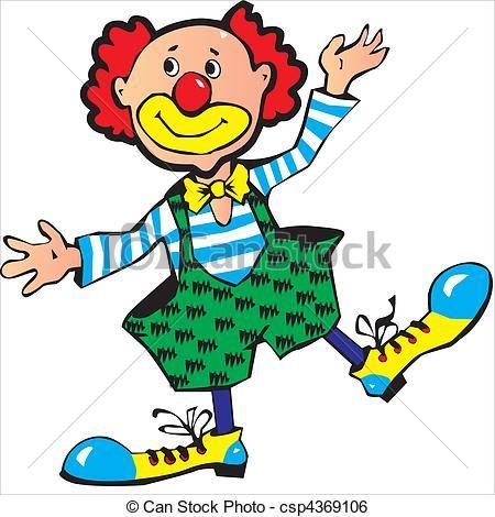 vector clown stock illustratie royalty vrije illustraties rh pinterest co uk crowns clipart clown clip art with balloons