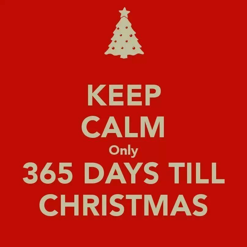 Only 365 Days Until Christmas Days Till Christmas Countdown Quotes Weeks Till Christmas