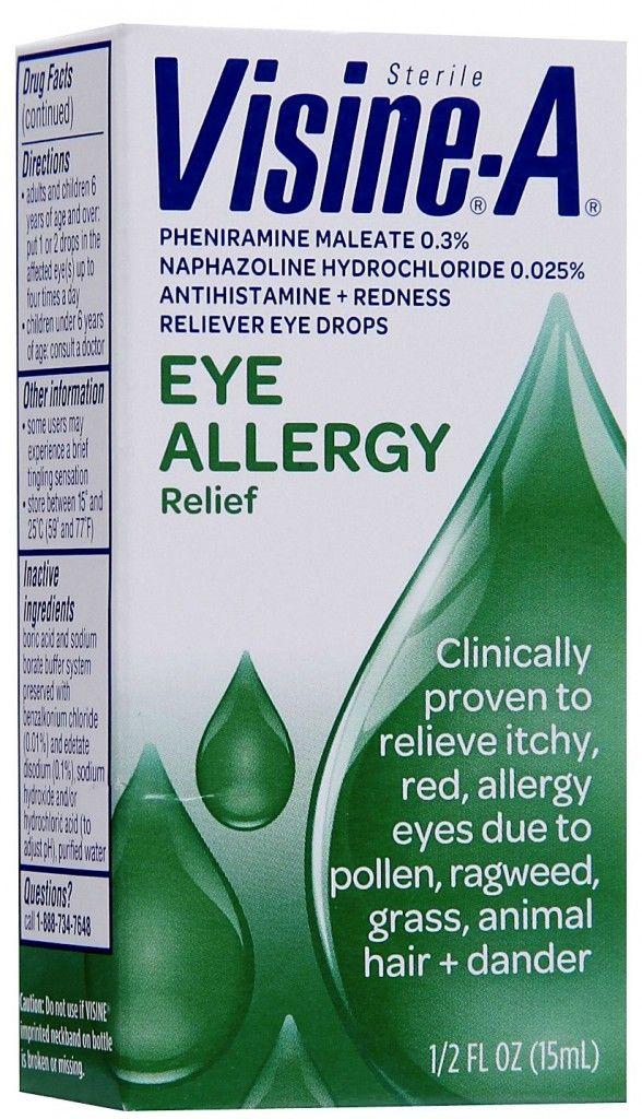 Better Than Free Visine Eye Drops At Walgreens Eye Allergy