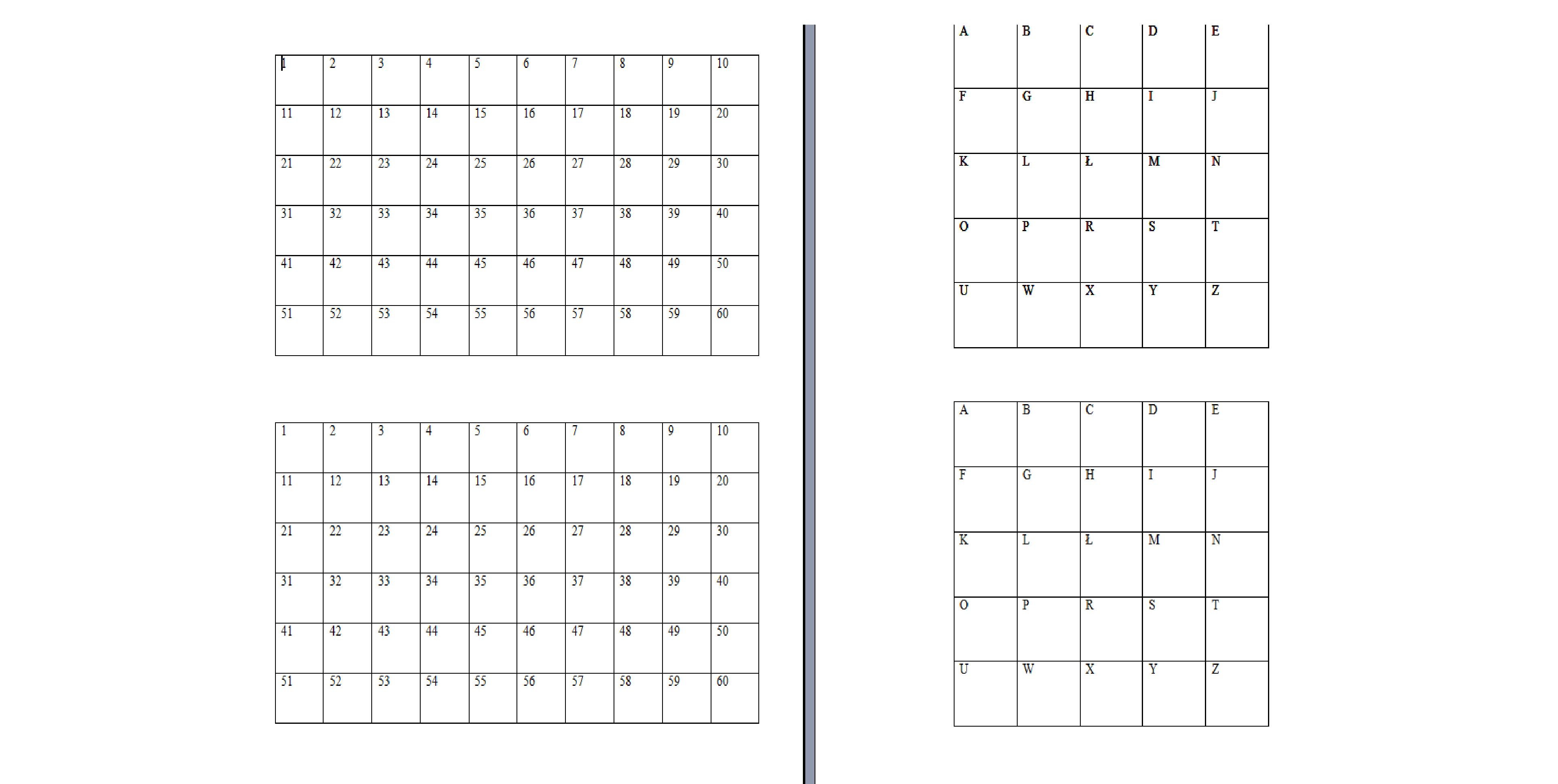 Numeryczne Kwadraty Moje Dzieci Kreatywnie Words Word Search Puzzle Periodic Table