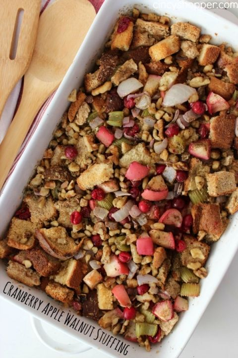 cranberry apple walnut stuffing recipe pinterest christmas side dishes christmas side and stuffing recipes - Christmas Side Dishes Pinterest