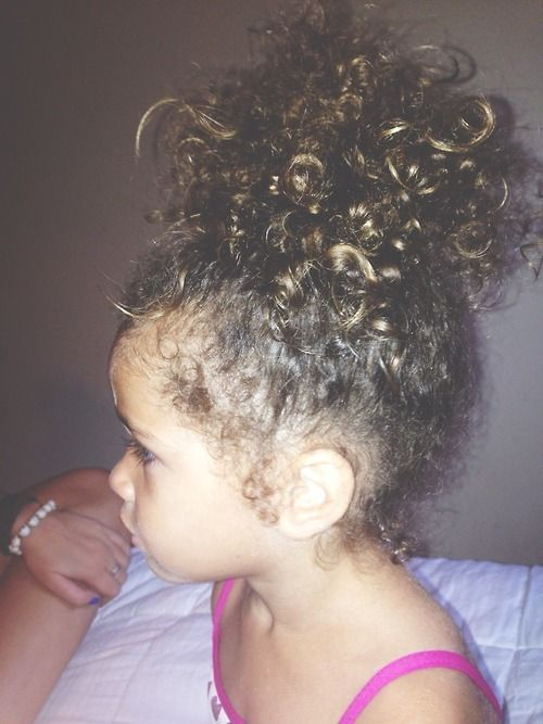 Curly Hairstyle For Toddler : All that pretty curls! baby fever pinterest