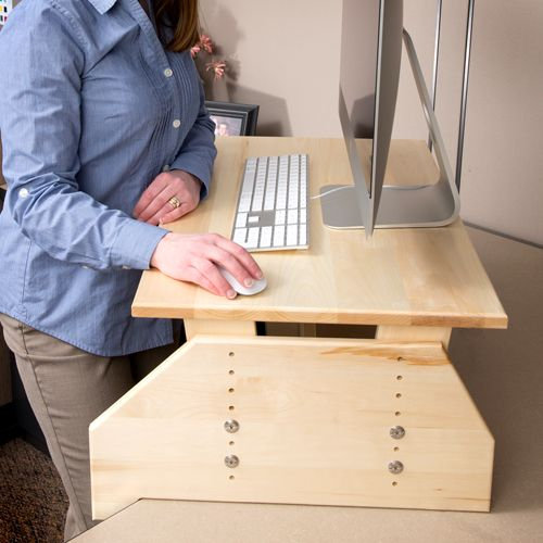 Wallsproutz Standz 900 Adjustable Stand Up Desk Converter 30 X18
