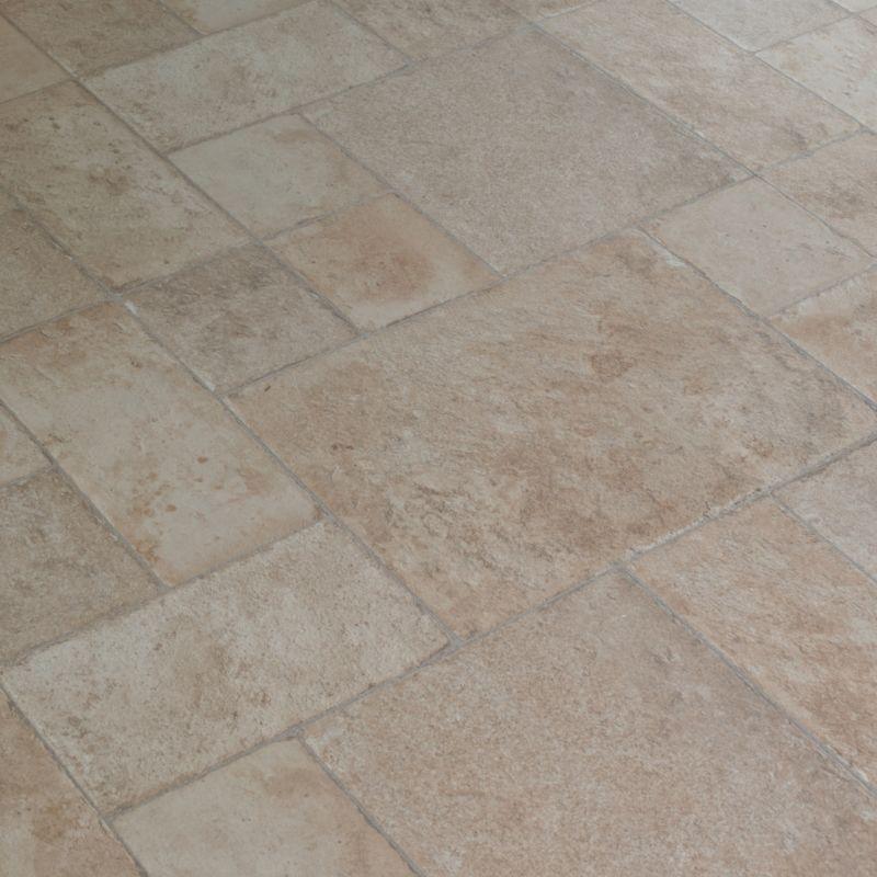 Stone Tile Flooring TileLOC Random Stone Caramel
