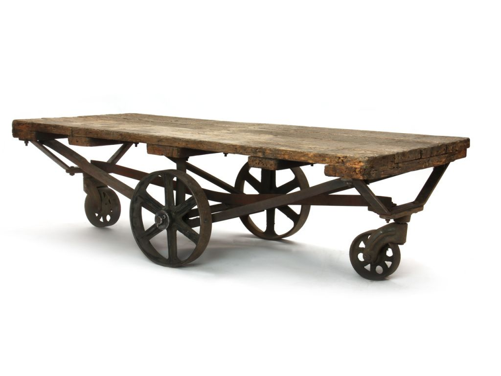 1stdibs Industrial Cart Industrial Cart Table Rustic Industrial Decor