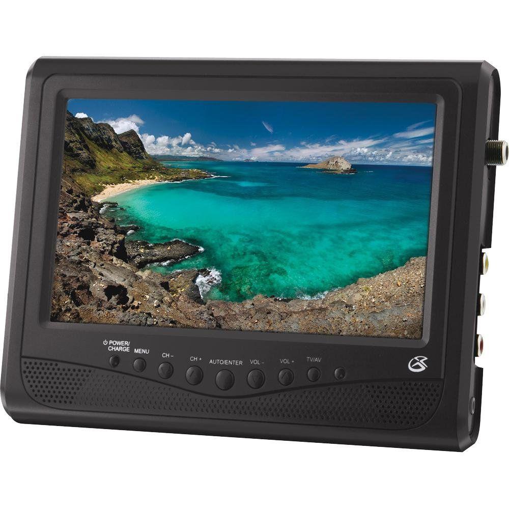 Gpx Tl709b Portable Color Television, 7\