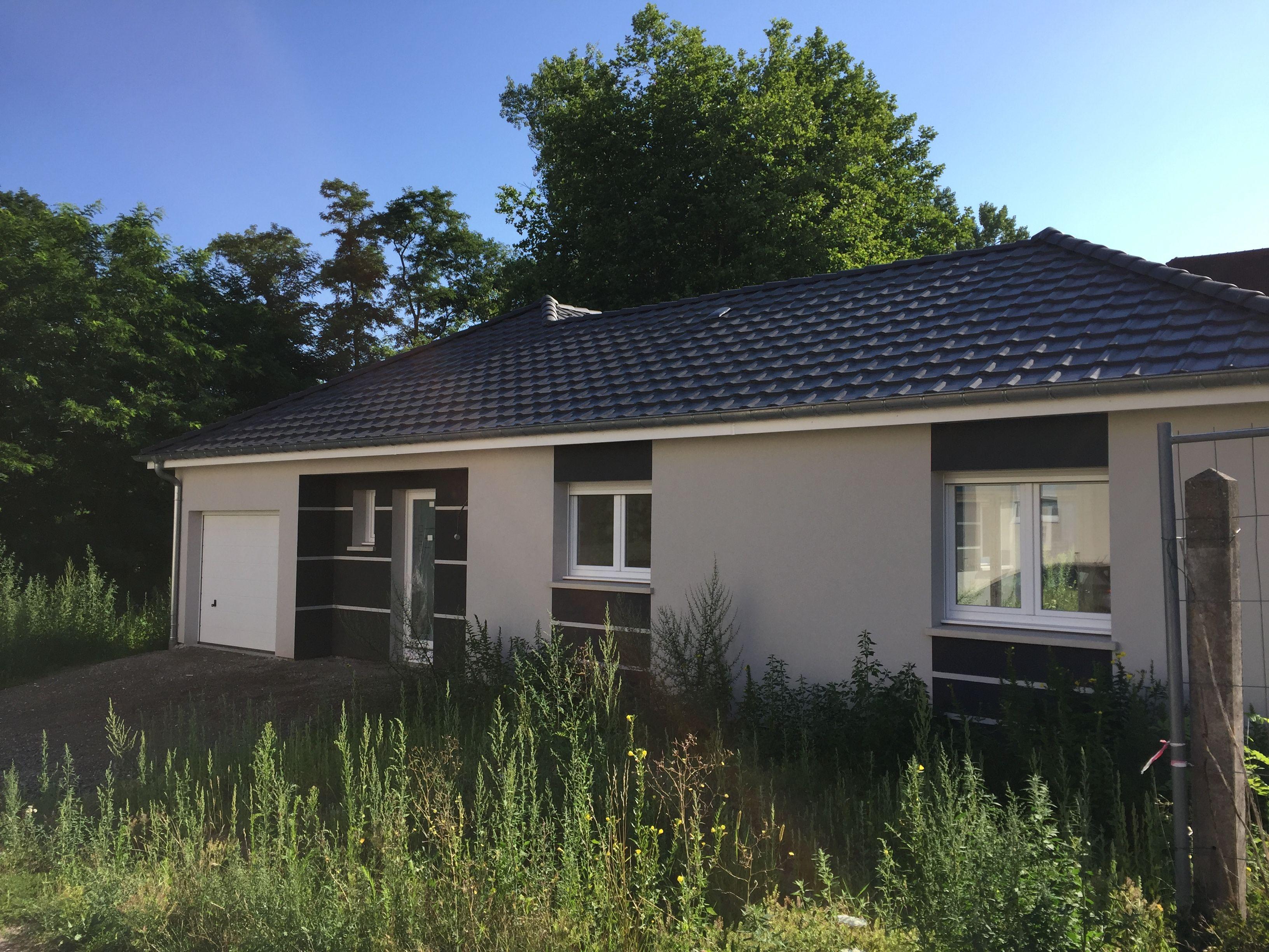 construction maison plain-pied Moselle, constructeur Logis Création ...