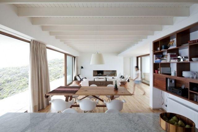 Plafond design 90 id es merveilleuses pour votre int rieur plafond lambr - Plafond a la francaise ...
