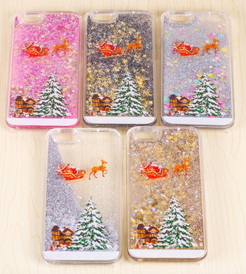 Christmas Glitter case for iPhone s u s Assorted Colours  I