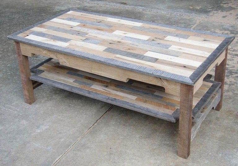 27 Simple And Inexpensive Diy Coffee Table Ideas Pallet Wood Coffee Table Coffee Table Wood Woodworking Coffee Table