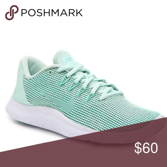 NWOB! Nike Women's Flex 18 Running Shoe Mint Green Protect