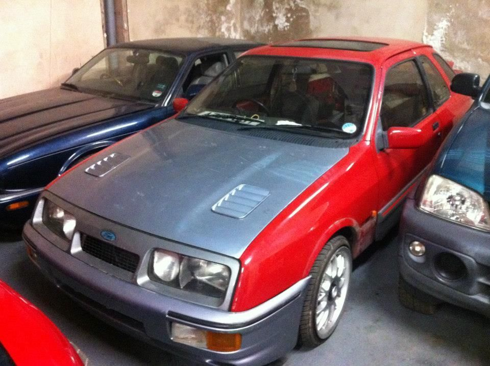 1984 Ford Sierra Xr4i Red Rs Cosworth Project Look Well My Idea Was So Good Sierra