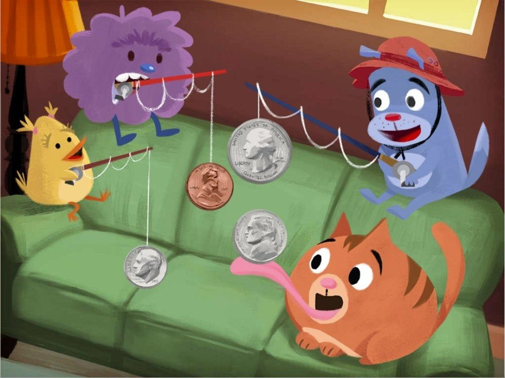 The Ability To Identify Coins Comes In Handy In This Couch