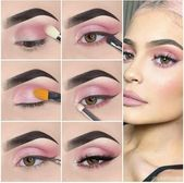 Cómo aplicar la punta de maquillaje natural para ojos paso a paso. Sepa cómo maquillarse los ojos …
