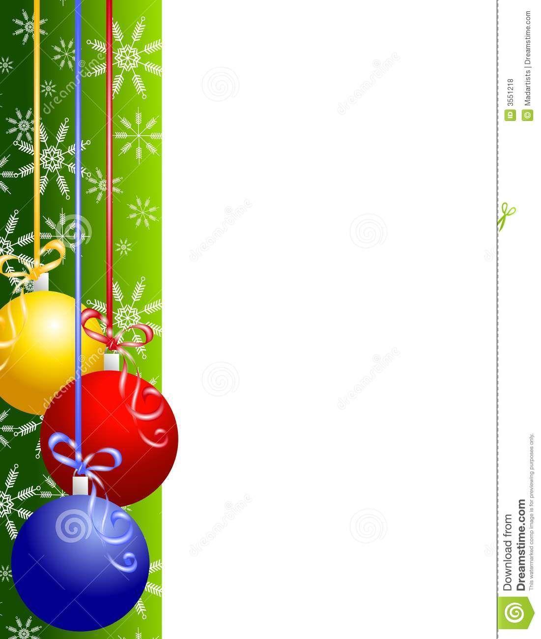 christmas clipart borders christmas ornaments border 3551218 jpg rh pinterest co uk christmas clip art border images christmas clip art border images