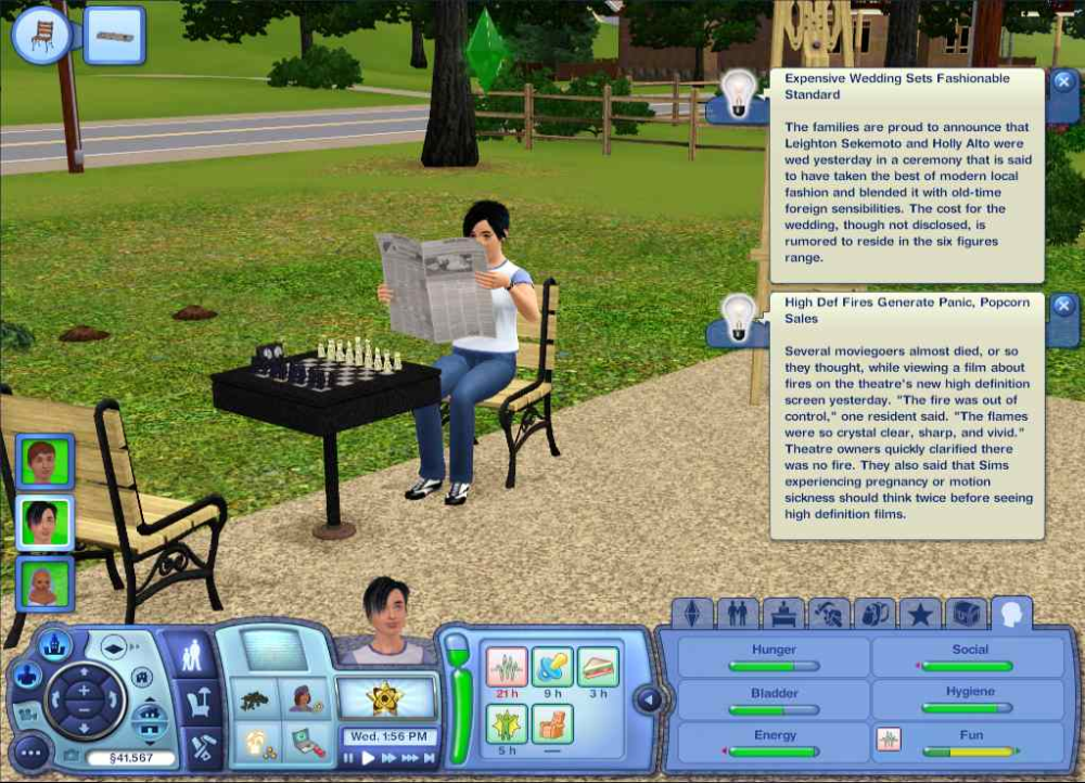 Help sims 3 lovers 2