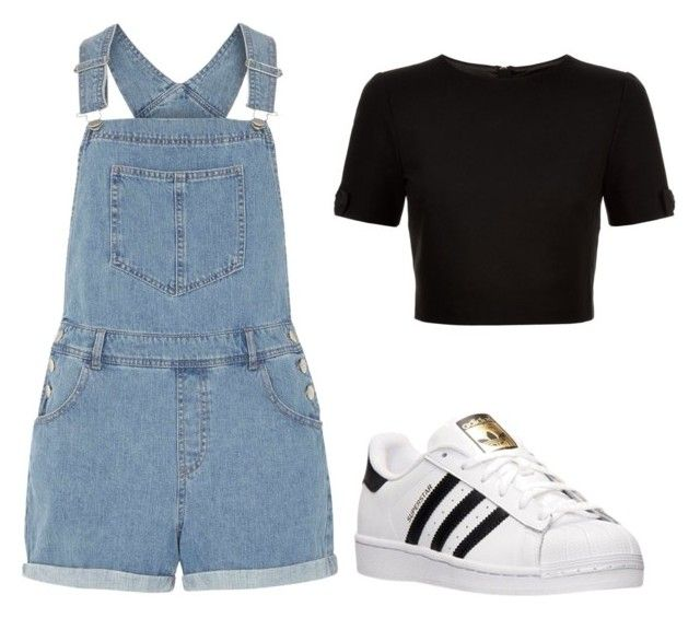 """""""How to wear Adidas"""" by karlamichell on Polyvore featuring Dorothy Perkins, Ted Baker and adidas"""