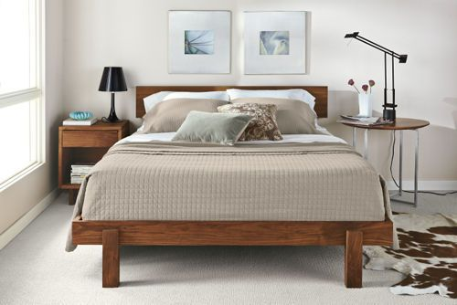 Clean And Comfortable Anders Bed From Room Board Queen