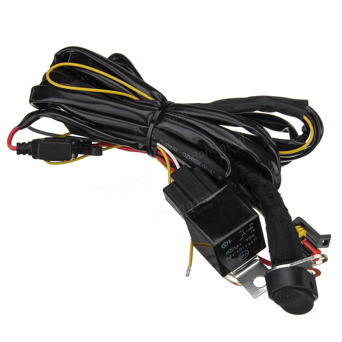 12v 40a Led Fog Lights Wiring Harness Switch On Off For Bmw R1200gs Motorcycle F800gs
