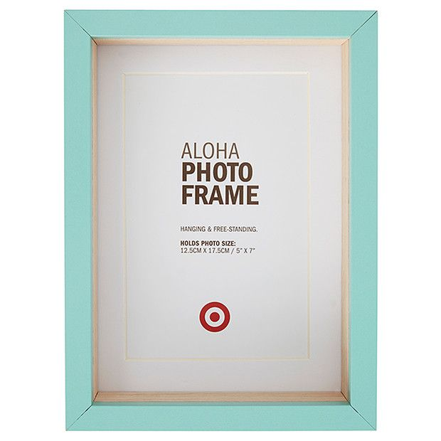 Aloha Photo Frame - 12.5 x 17.5cm - Blue | Target, Display and Bedrooms